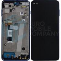 Motorola Moto G 5G Plus Display Complete + Frame (5D68C16996) - Surfing Blue