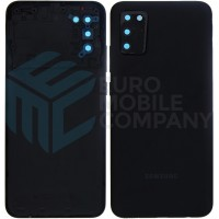 Samsung Galaxy A02s (SM-A025F) Battery Cover - Black