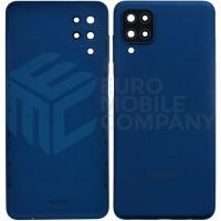 Samsung Galaxy A12 (SM-A125F) Battery Cover - Blue