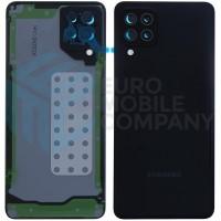 Samsung Galaxy A22 5G (SM-A226) Battery Cover - Black