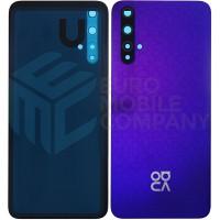 Huawei Nova 5T (YAL-L21) Battery Cover - Midsummer Purple