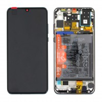 Huawei P30 Lite New Edition (MAR-L21BX) OEM Service Part Screen Incl. Battery (02353FPX) - Black