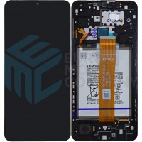 Samsung Galaxy A12 2020 SM-A125 (GH82-24708A) Display Complete + Battery - Black