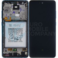 Samsung Galaxy A52 4G/5G 2021 SM-A525F SM-A526B (GH82-25230B/GH82-25229B) Display Complete With Battery - Awesome Blue