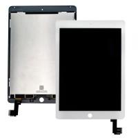 iPad Air 2 Display + Digitizer Module Full Original Pulled - White