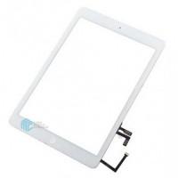 iPad Air/ iPad 2017 Digitizer + Home Button Flex OEM - White