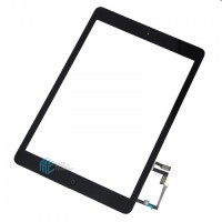 iPad Air/ iPad 2017 Touchscreen + Home Button Flex OEM - Black