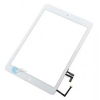 iPad Air/ iPad 2017 Touchscreen + Home Button Flex OEM - White
