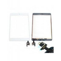 iPad mini 1/2 Touchscreen + Home Button Flex OEM - White