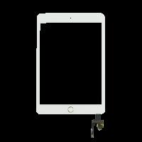 iPad mini 3 Touchscreen + Home Button Flex OEM - White