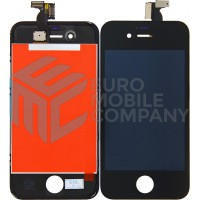 iPhone 4 Display + Digitizer A+ Quality - Black