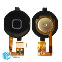 iPhone 4G Home Button - Black