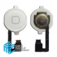 iPhone 4G Home Button - White