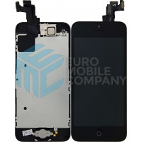 iPhone 5C Display + Touchscreen, Pre Assembled A+ High Quality - Black