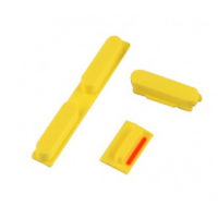 Buttons Set For iPhone 5C - Yellow