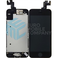 iPhone 5S Display + Digitizer, Pre Assembled A+ High Quality - Black