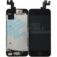 iPhone 5SE Display + Touchscreen, Pre Assembled A+ High Quality - Black