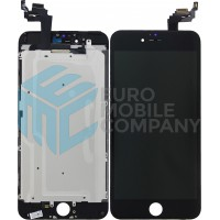 iPhone 6 Plus Display + Touchscreen, +Metal Plate A+ High Quality - Black