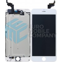 iPhone 6 Plus Display + Touchscreen, +Metal Plate A+ High Quality - White