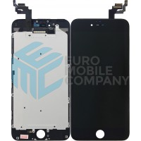 iPhone 6 Plus LCD + Digitizer + Metal Plate, Complete OEM Replacement Glass - Black