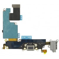 iPhone 6 Plus Dock Port + Audio Connector Flex - Black
