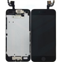 iPhone 6 Display + Touchscreen, Pre Assembled A+ High Quality - Black