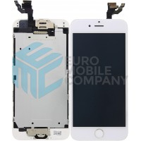 iPhone 6 Display + Touchscreen, Pre Assembled A+ High Quality - White