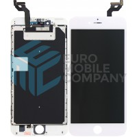 iPhone 6S PLUS LCD + Digitizer + Metal Plate, Complete OEM Replacement Glass - White