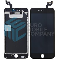 iPhone 6S Plus Display + Digitizer, +Metal Plate A+ High Quality - Black
