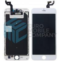iPhone 6S Plus Display + Touchscreen, +Metal Plate A+ High Quality - White