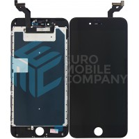 iPhone 6S Plus Display + Digitizer + Metal Plate, Complete OEM Replacement Glass - Black