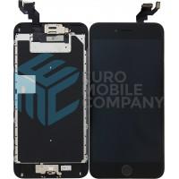 iPhone 6S Plus Display + Digitizer, Pre Assembled A+ High Quality - Black