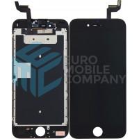 iPhone 6S Display + Digitizer + Metal plate, Replacement Glass OEM - Black