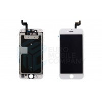 iPhone 6S Display + Digitizer, +Metal Plate A+ High Quality - White