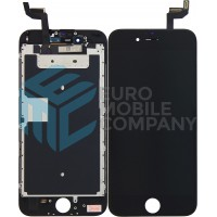 iPhone 6S Display + Touchscreen + Metal plate, Replacement Glass OEM - Black
