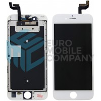 iPhone 6S Display + Digitizer + Metal plate, Replacement Glass OEM - White