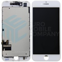 iPhone 7 OEM Display + Replacement Digitizer + Metal Plate - White
