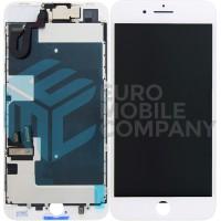 iPhone 8 Plus Display + Digitizer Full OEM Pulled - White