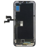 iPhone X Display incl touchscreen - Replacement Glass, - Black