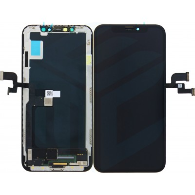 iPhone X Display + Digitizer Incell Quality - Black