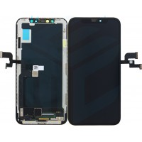 iPhone X Display + Touchscreen (Soft Oled) - Black