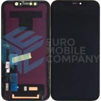 iPhone XR Display Incl Digitizer Full OEM (LG) - Black