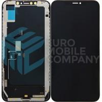 iPhone XS Max Display + Digitizer (Hard Oled) Quality - Black