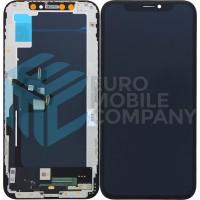 iPhone XS Display + Touchscreen High Quality Hard OLED - Black