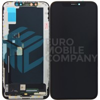 iPhone XS Display + Touchscreen (Soft OLED) High Quality- Black