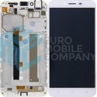 Asus ZenFone 3 Max (ZC553KL) Display + Digitizer Complete - White