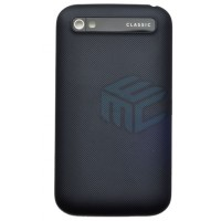 Replacement Battery Cover For Blackberry Q20 Classic - black