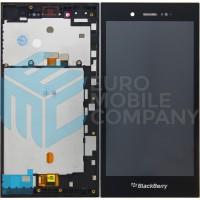 Blackberry Z3 LCD + Touchscreen + Frame - Black