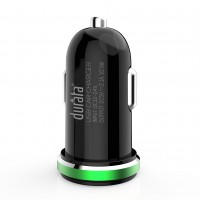 Durata Car Charger Dual USB 2.1A - White (DR-C22)