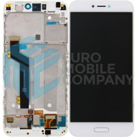 Xiaomi Mi 5C OEM Display Complete With Frame - White